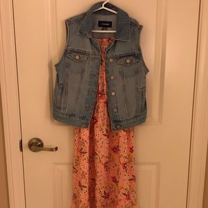 New! Old Navy Girls Dress and Vest Outfit